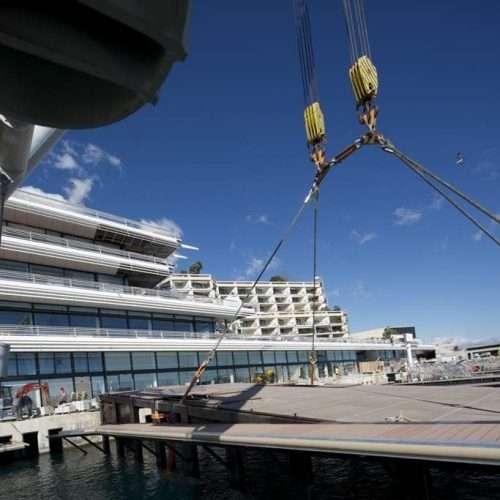 Fabrication Sur Mesure D'élingues Pour Le Port De Monaco