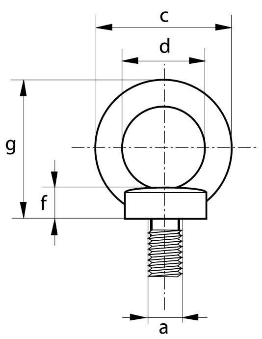 Crochet Simple à oeil G80 EXCEL