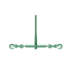Tendeur D'Arrimage à Cliquet + Crochet Green Pin P-7130 Pour Chaîne Ø 10-13mm