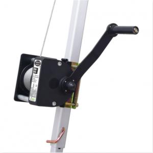 Treuil Inox Pour Trépied Avec Câble Longueur 30m CMU 250kg