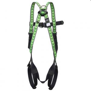 Harnais antichute 2 points d'accrochage à ceinture confort et boucles automatiques Dos